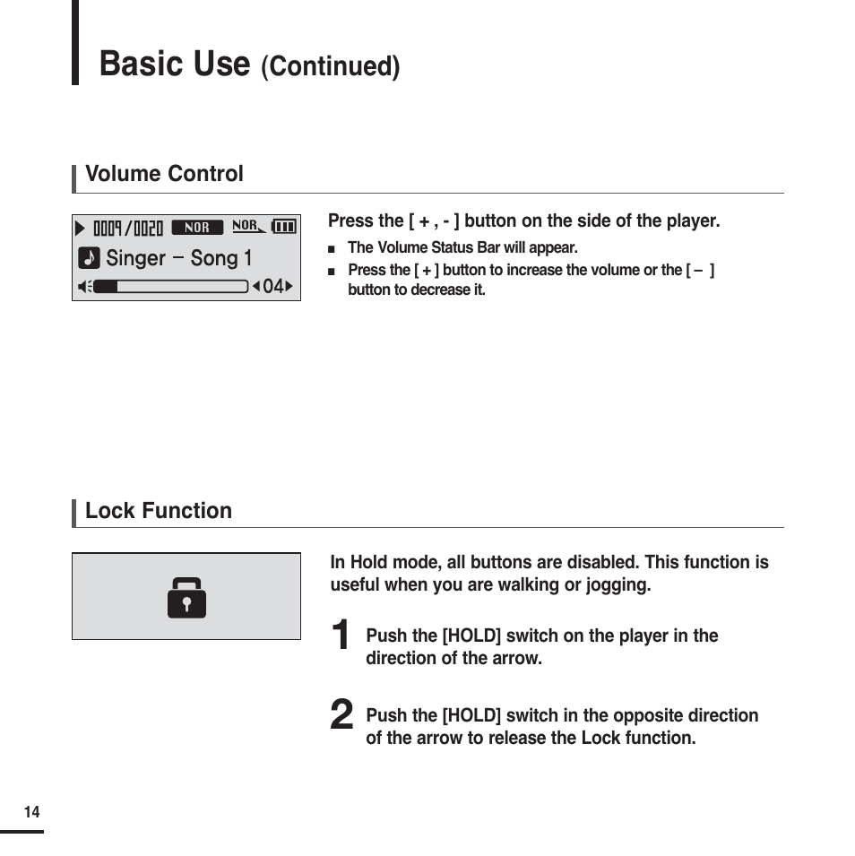 Basic Use Continued Samsung Yp F2x User Manual Page 14 68