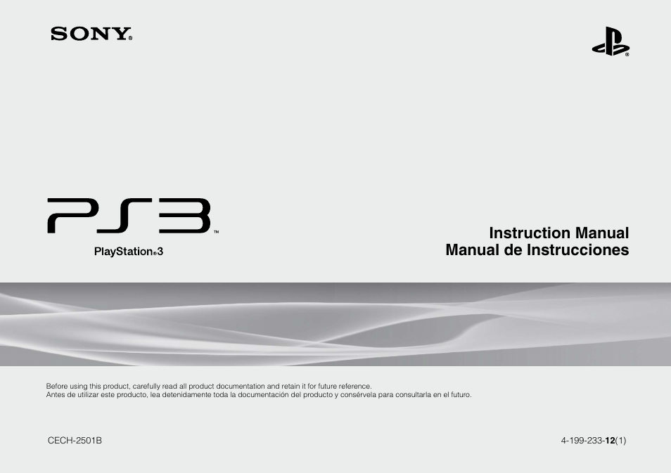 sony 320 gb playstation 3 cech 2501b user manual 120 pages rh manualsdir com sony ps3 owners manual+pdf sony ps3 owners manual+pdf