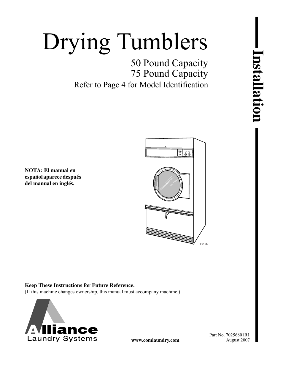 Speed queen drying tumblers none user manual 60 pages publicscrutiny Gallery