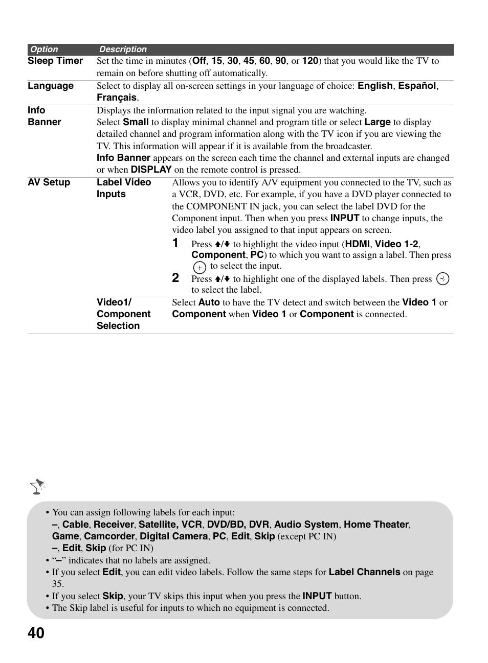 sony bravia kdl 22bx321 user manual page 40 64 original mode rh manualsdir com
