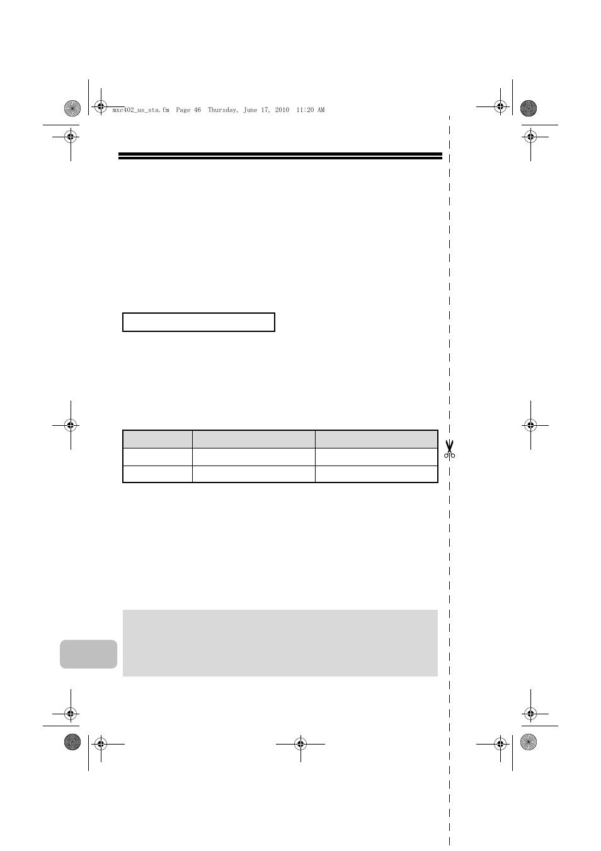 Factory default passwords   Sharp TINSE4796FCZZ User Manual
