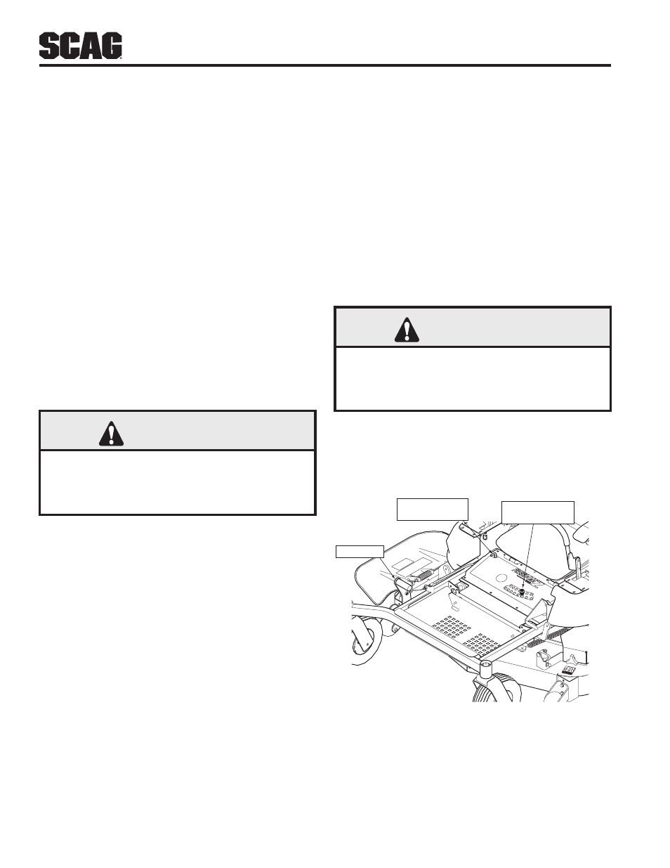 11 Moving Mower With Engine Stopped  12 Recommendations