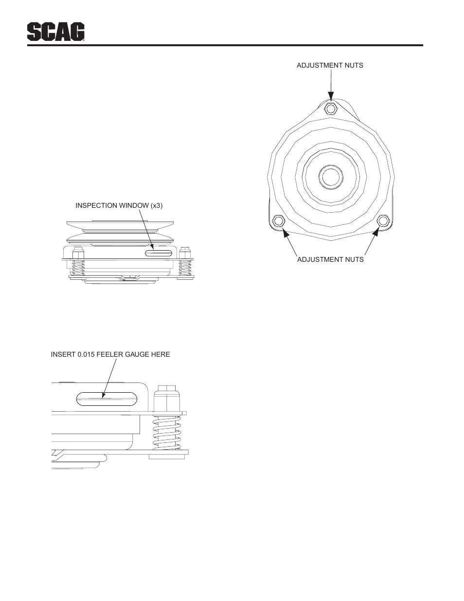 7 Electric Clutch Adjustment