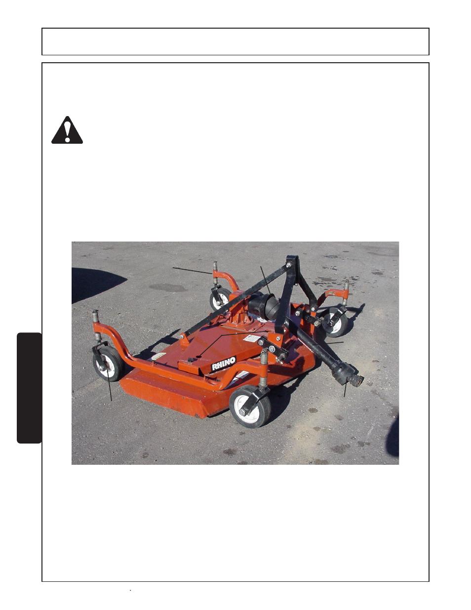 Lubrication information -2, Maintenance | Servis-Rhino FM60/72 User