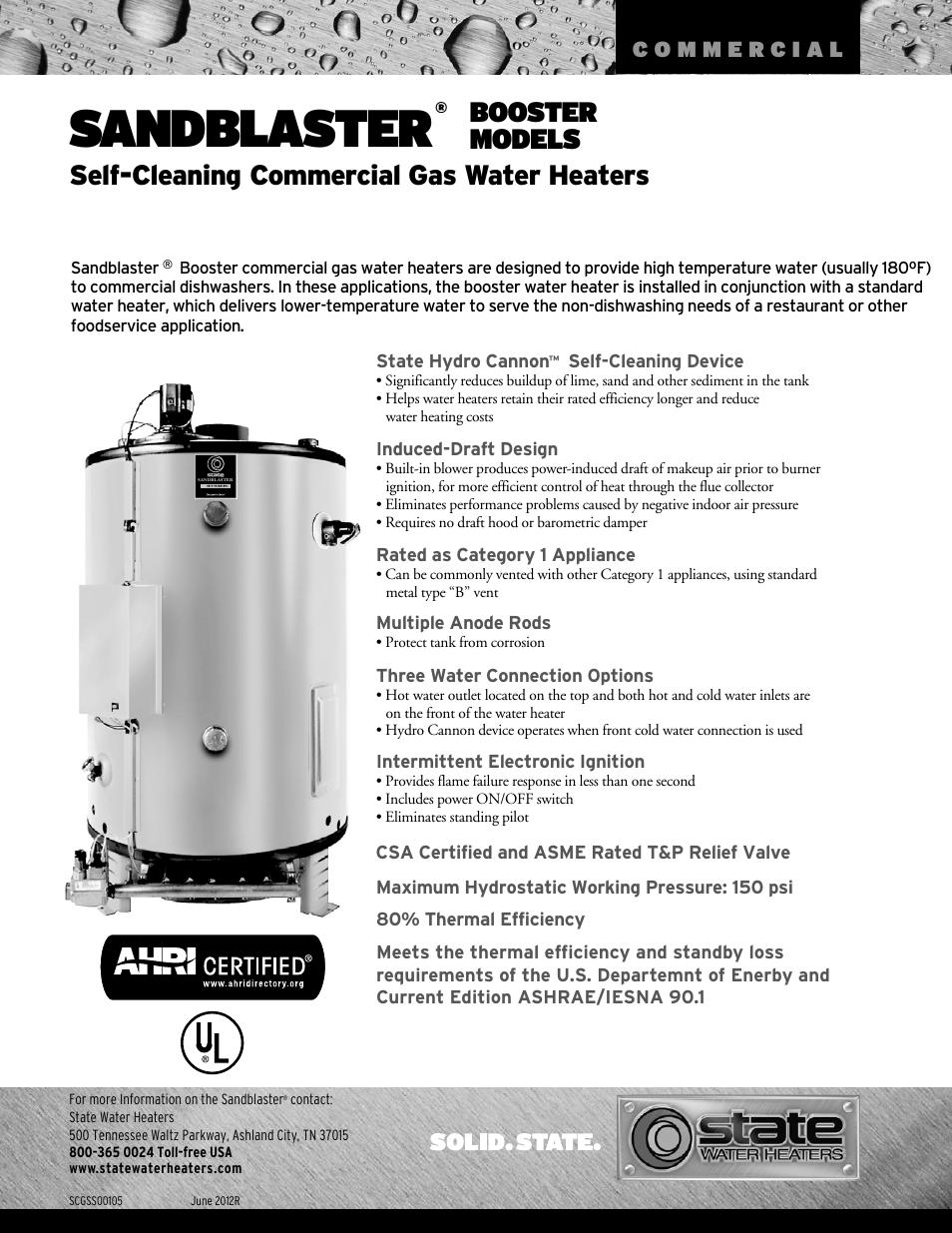 Self Cleaning Water Heaters Best Water Heater 2018