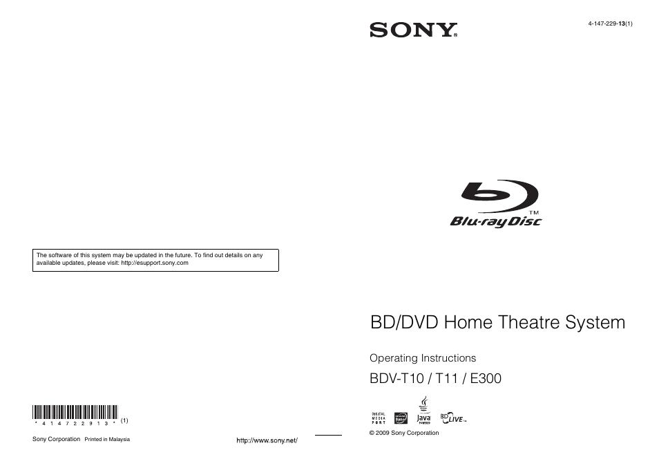 Sony bdv-e300 blu-ray home cinema system review   trusted reviews.