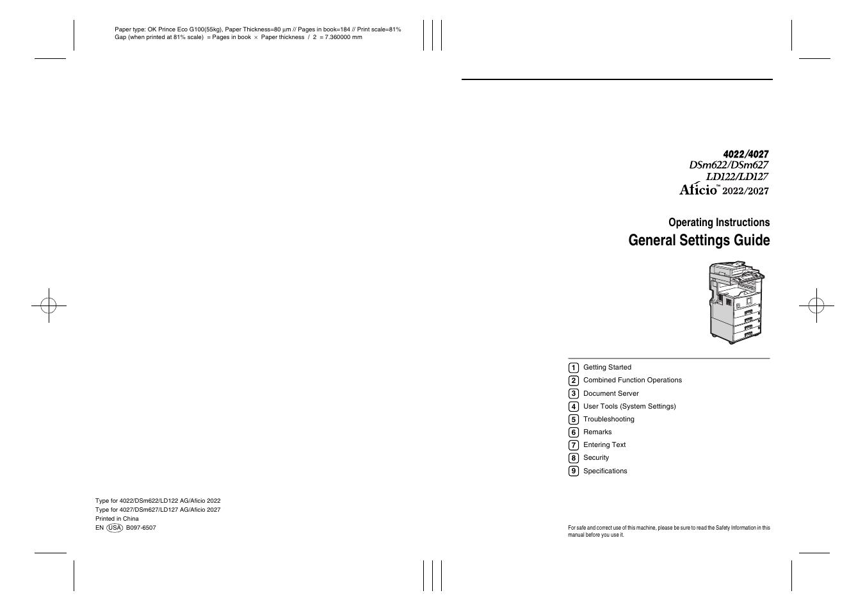 savin 2022 user manual 188 pages also for ld127 ld122 dsm622 rh manualsdir com Savin 4051 Sp Brochure Savin 4022 Driver
