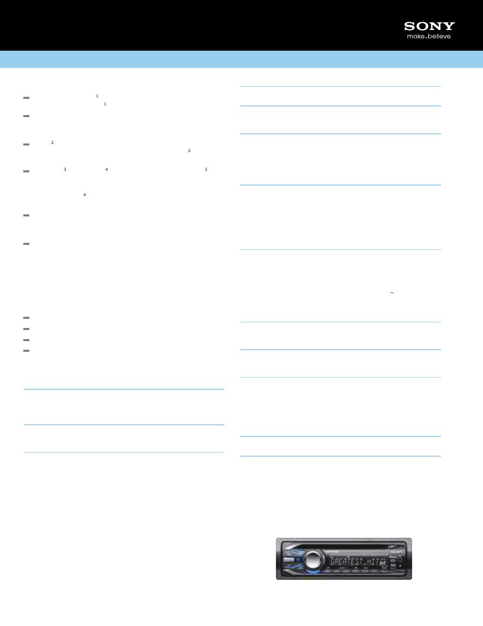 Sony Cdx Gt34w Stereo Wiring Diagram   Wiring Diagram Sony Cdx Gt W Wiring Diagram Manual on sony wiring harness colors, sony cdx gt57up wiring-diagram, sony cdx m20 wiring-diagram, sony cdx gt24w, sony cdx gt33w manual,