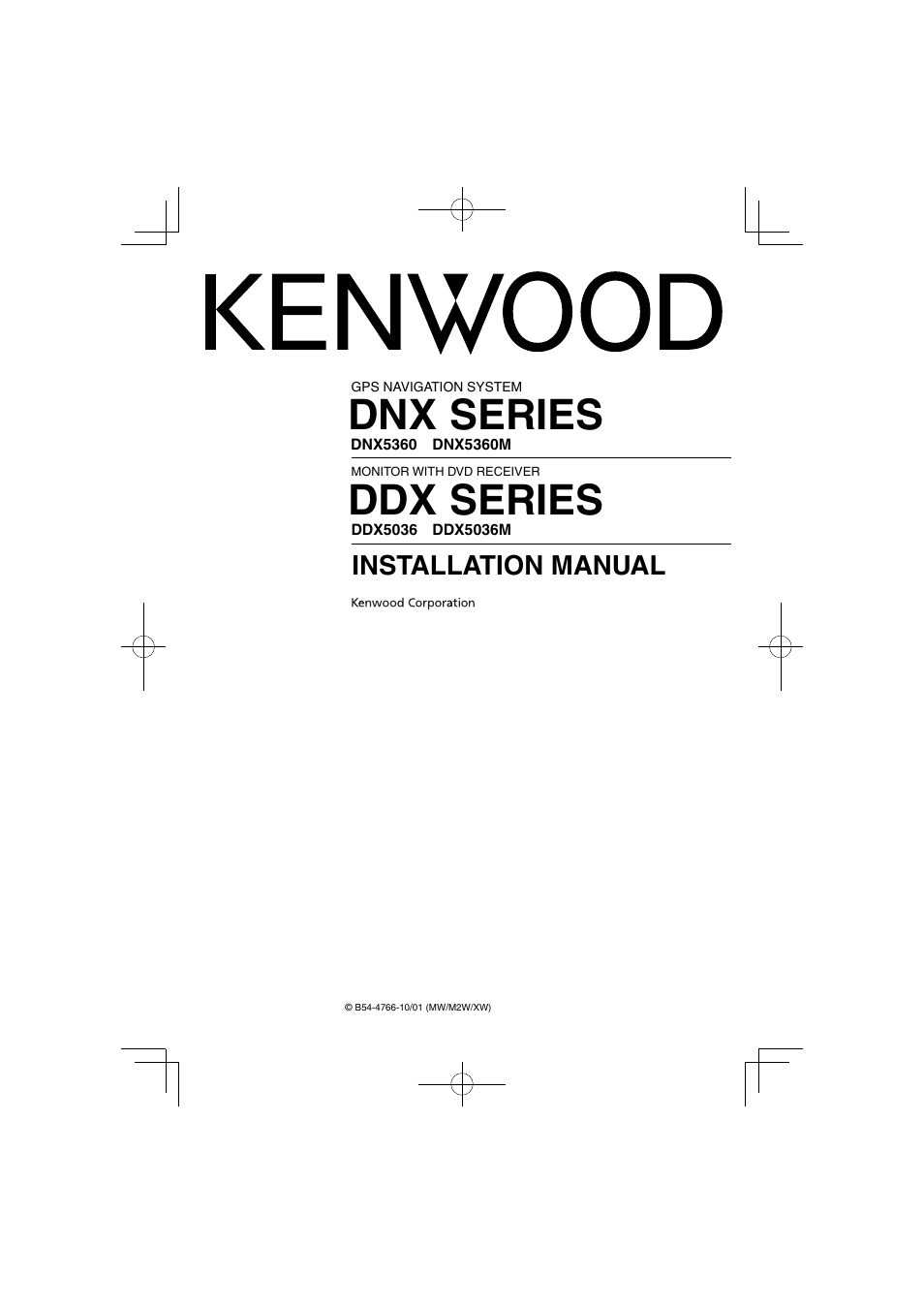 Kenwood ddx5036 user manual 11 pages also for dnx5360 ddx5036m sciox Gallery