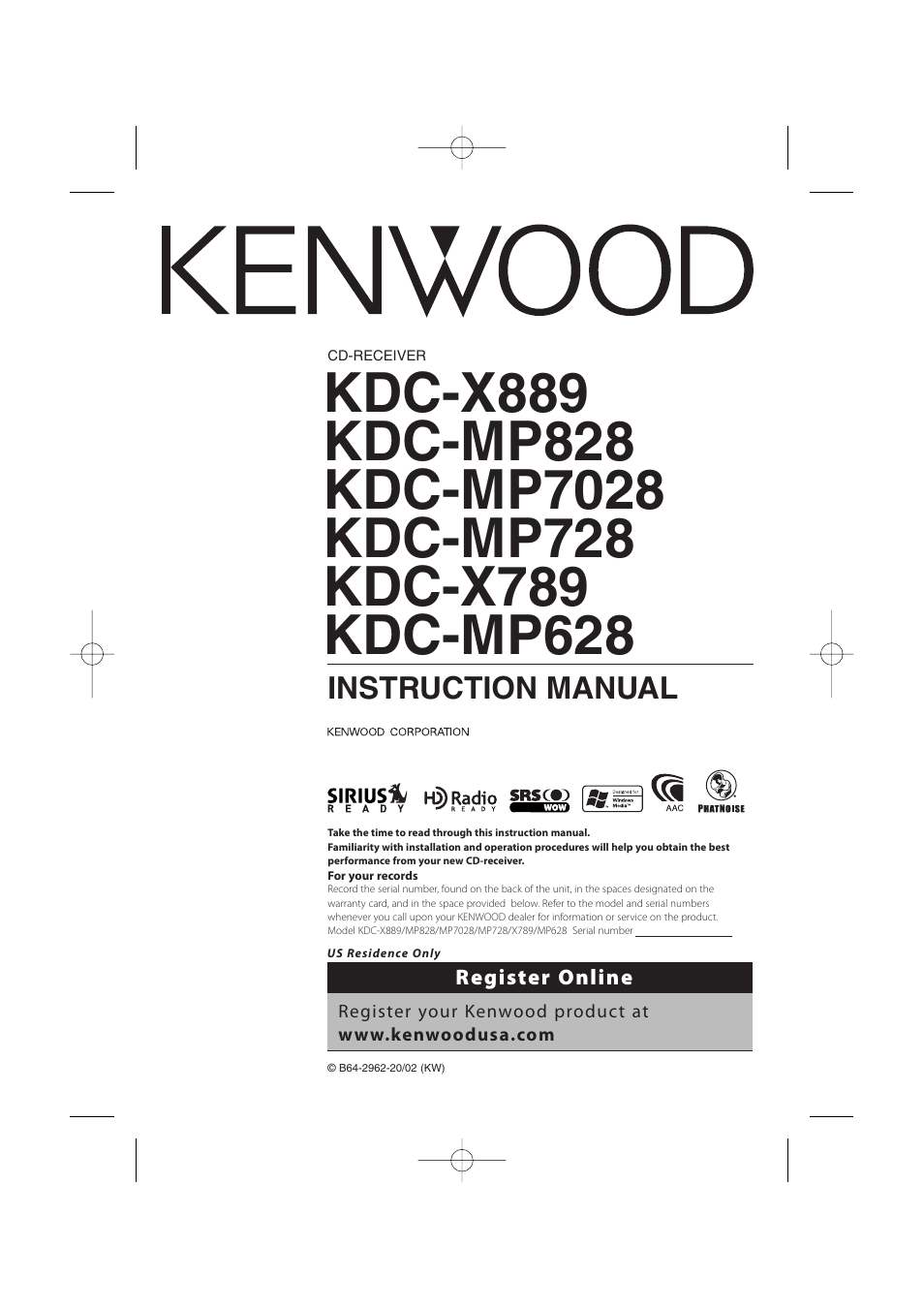 kenwood car cd player product