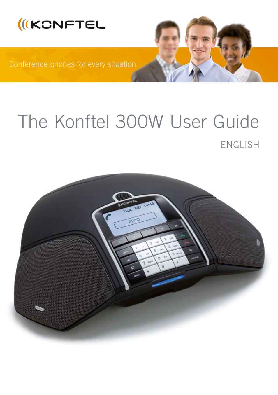 konftel 300w user manual 42 pages rh manualsdir com konftel 300w user manual Konftel 55W