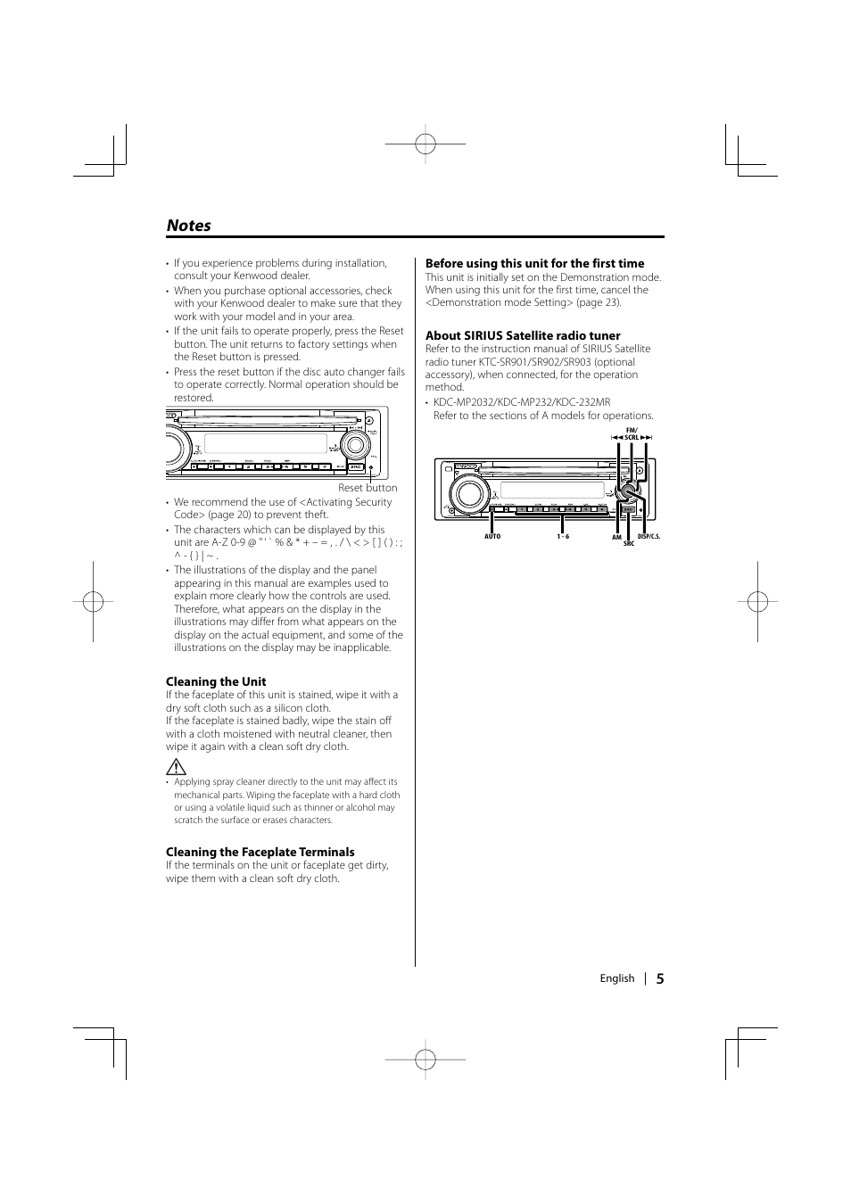 kenwood kdc mp2032 user manual page 5 34 rh manualsdir com