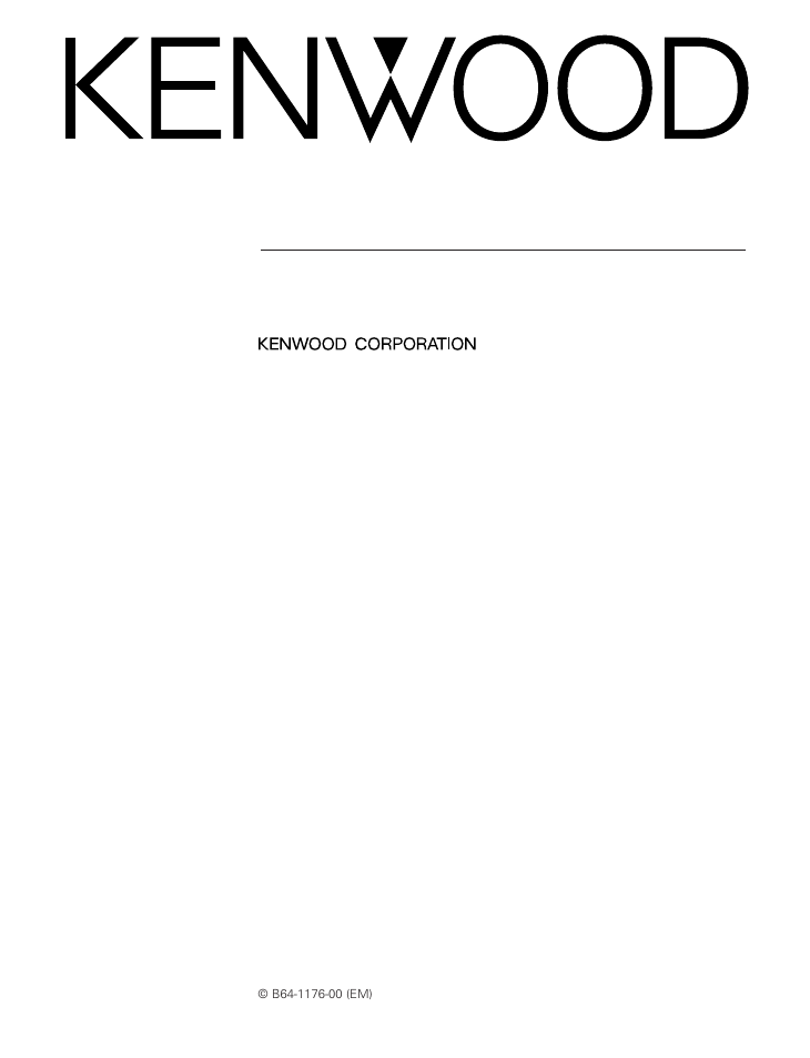 Kenwood kac-ps847 amplifiers