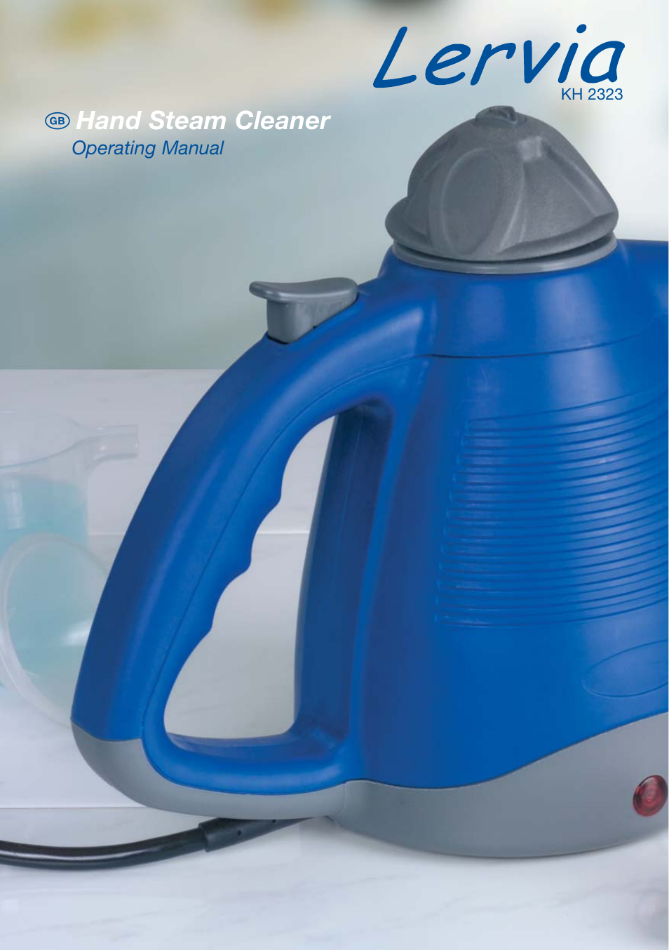 kompernass hand steam cleaner kh 2323 user manual