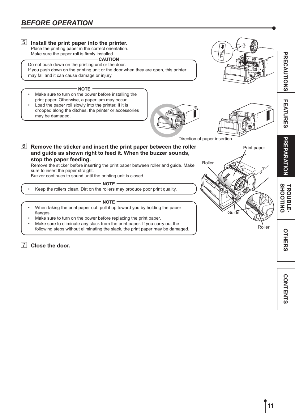 before operation kodak 305 user manual page 14 26 original mode rh manualsdir com kodak printer esp 3250 instruction manual Instruction Manual Crane