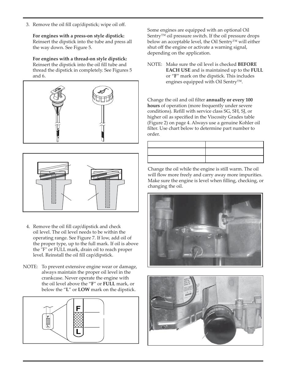 kohler courage sv720 user manual page 8 20 also for courage rh manualsdir com Kohler Lawn Mower Engines Kohler Home Generators