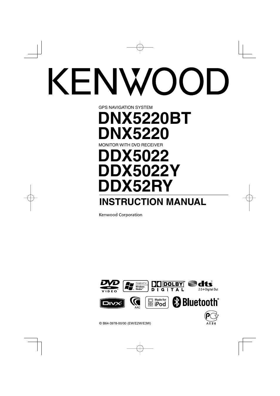 Kenwood Ddx 5022 Manual One Word Quickstart Guide Book Ddx419 Car Stereo Wiring Diagrams Ddx5022y User 96 Pages Also For Ddx5022 Dnx5220 Rh Manualsdir Com Specifications Models