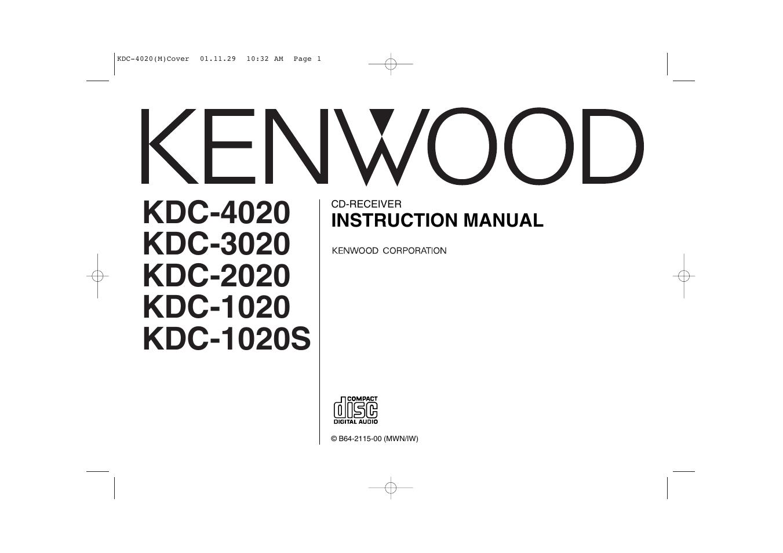 kenwood kdc 2020 user manual