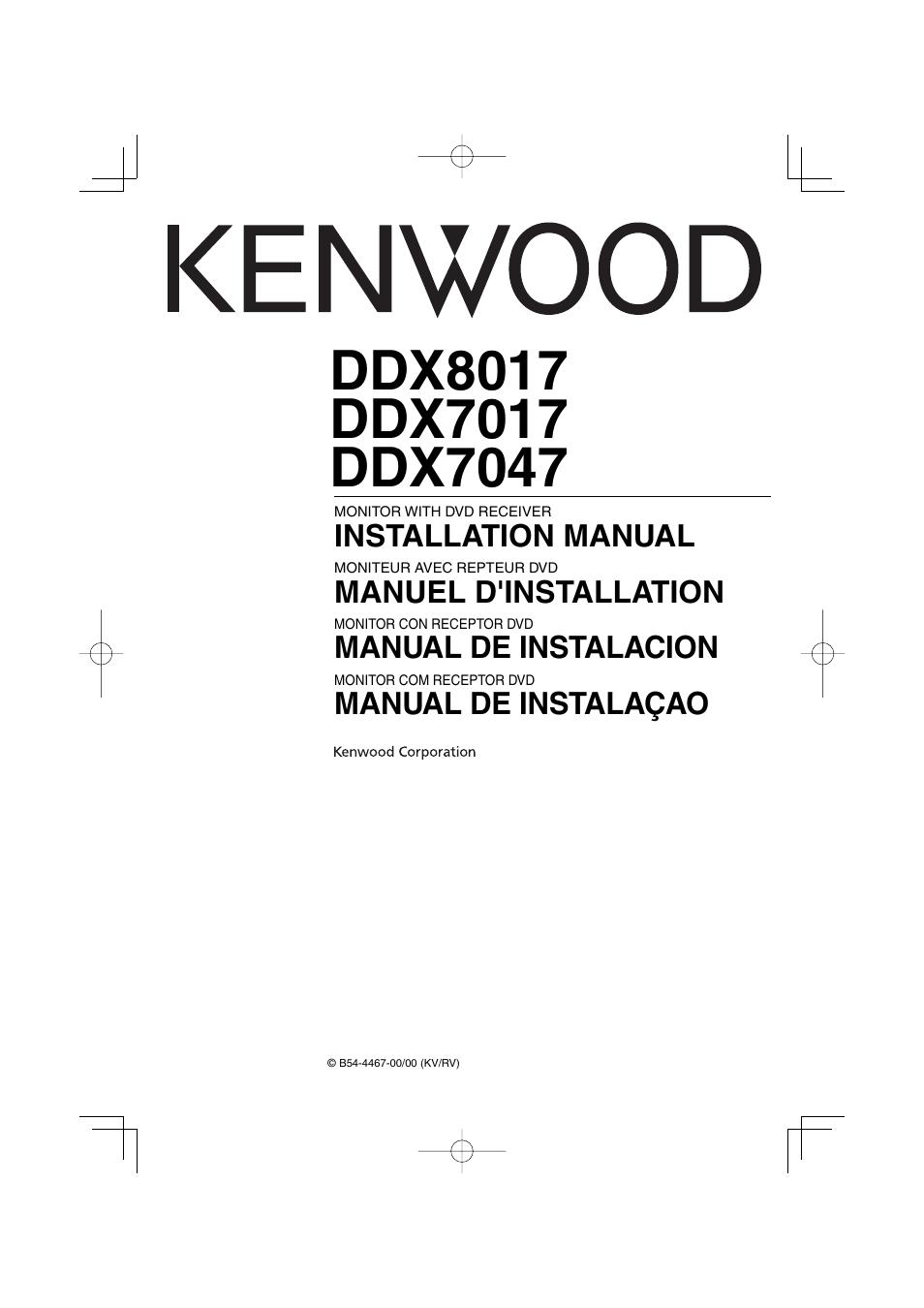 kenwood ddx7017 user manual 44 pages also for ddx7047 rh manualsdir com Kenwood DDX419 Kenwood DDX419
