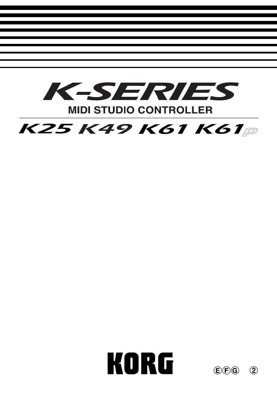 korg k49 user manual 73 pages also for k61p k25 k61 rh manualsdir com