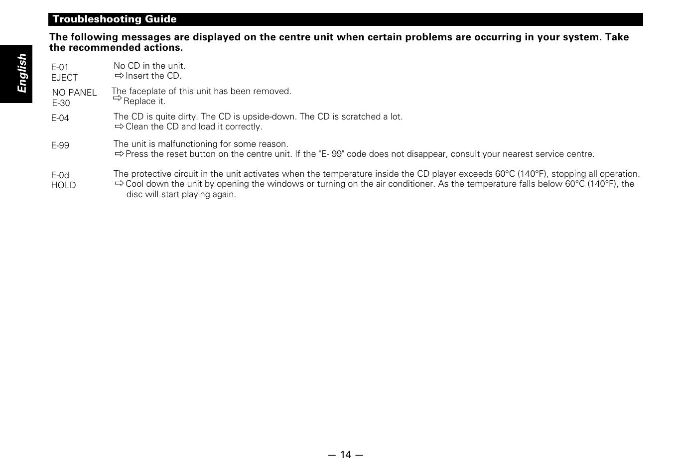 english kenwood kdc d300 user manual page 14 15 original mode rh manualsdir com d300 user guide nikon d300 user manual english
