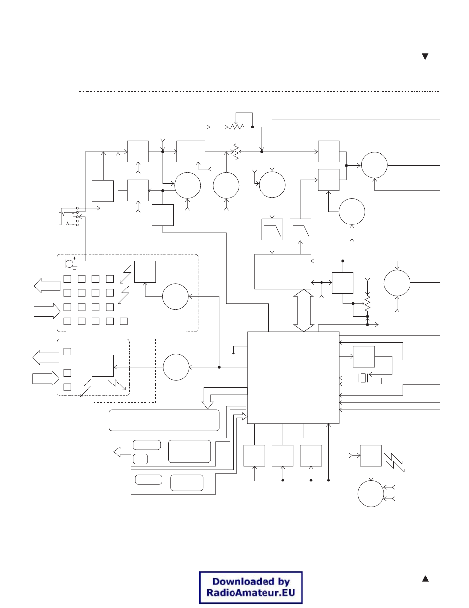 block diagram th k2at k2e k2et kenwood 144mhz fm transceiver k2e rh  manualsdir com