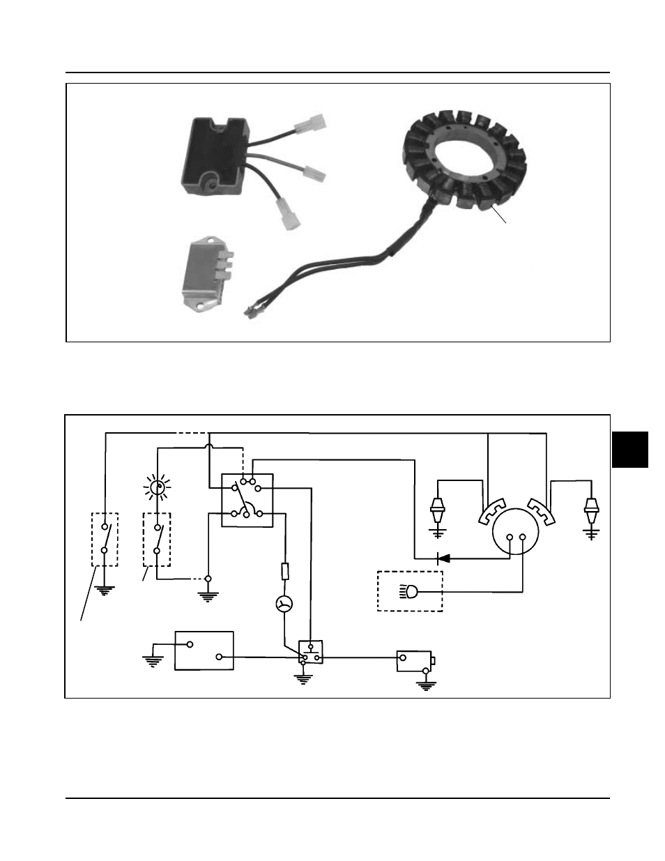 3 Amp Unregulated Charging System Kohler Command Ch18 745 User 12 Volt Diagram Manual Page 132 218