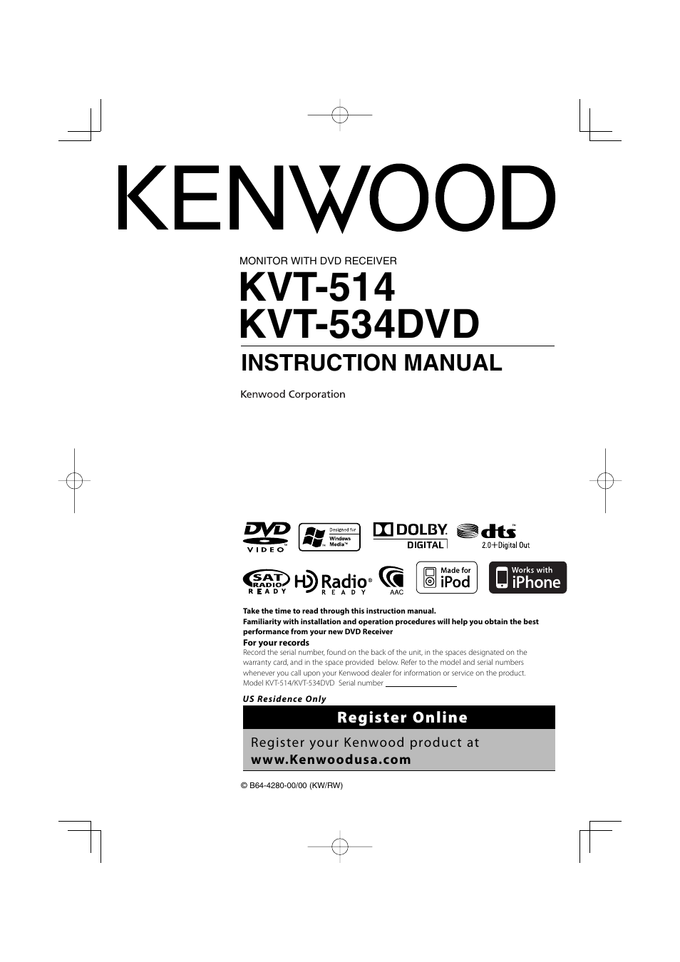 Kenwood Kvt 514 Manual Experience Of Wiring Diagram