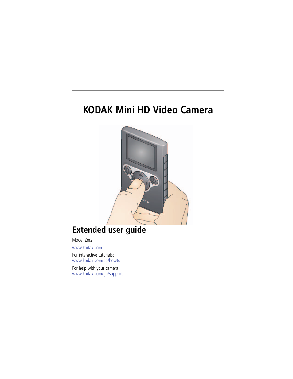 kodak zm2 user manual 25 pages rh manualsdir com Kodak Zi6 User Guide Kodak Mini Video Camera 2014