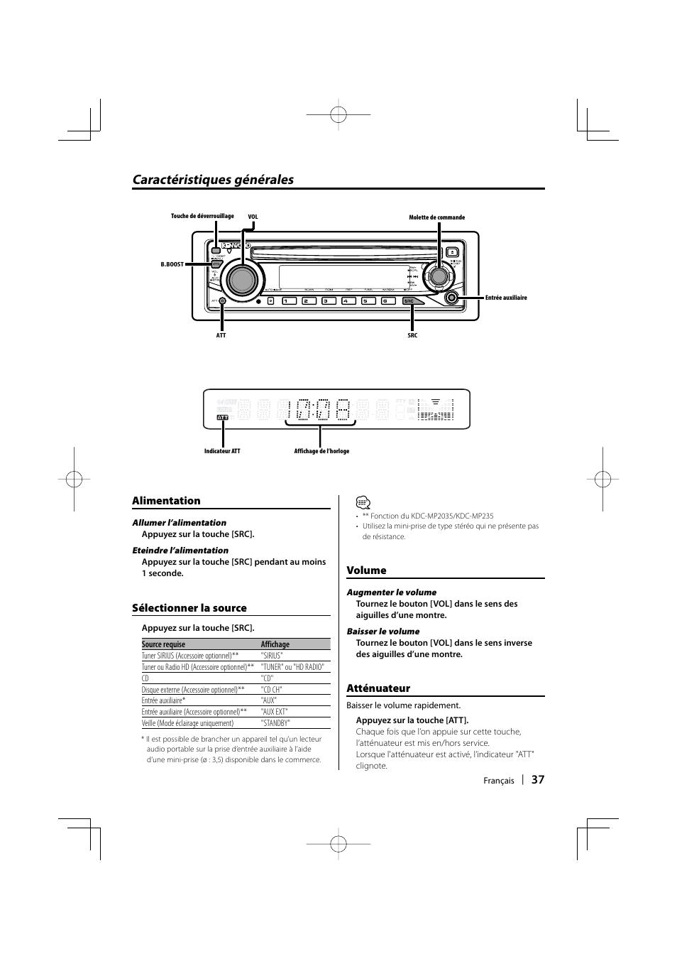 Kenwood kdc-mp2035 kdc-mp205 kdc-mp235 kdc-mp235cr service manual.