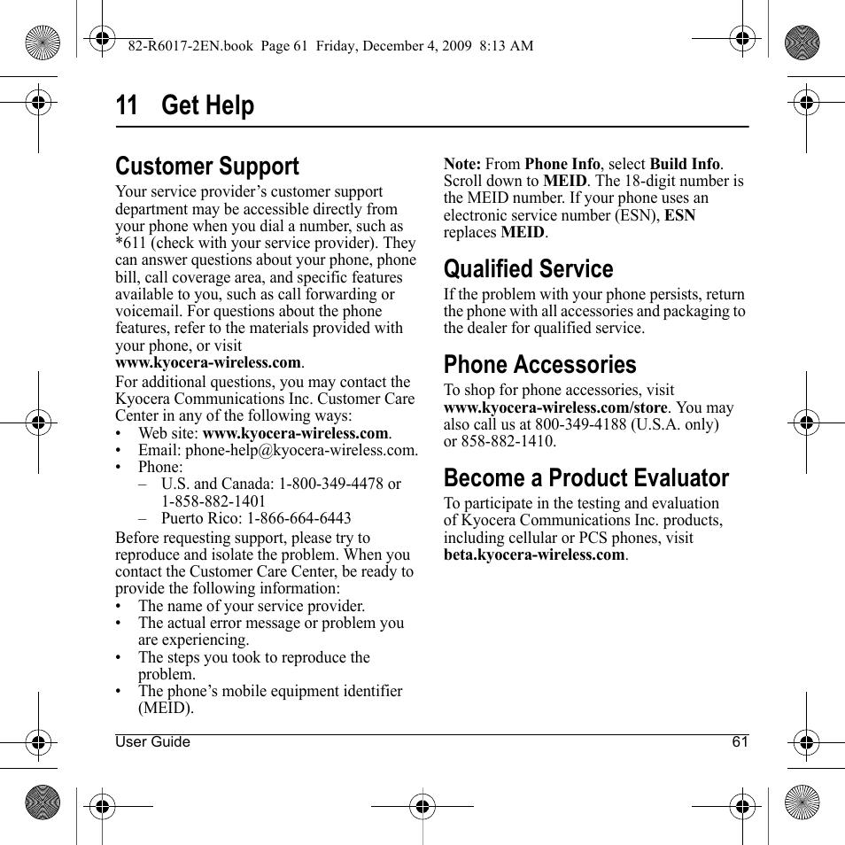 11 get help customer support qualified service kyocera tomo rh manualsdir com Tomos A35 Logo Tomo