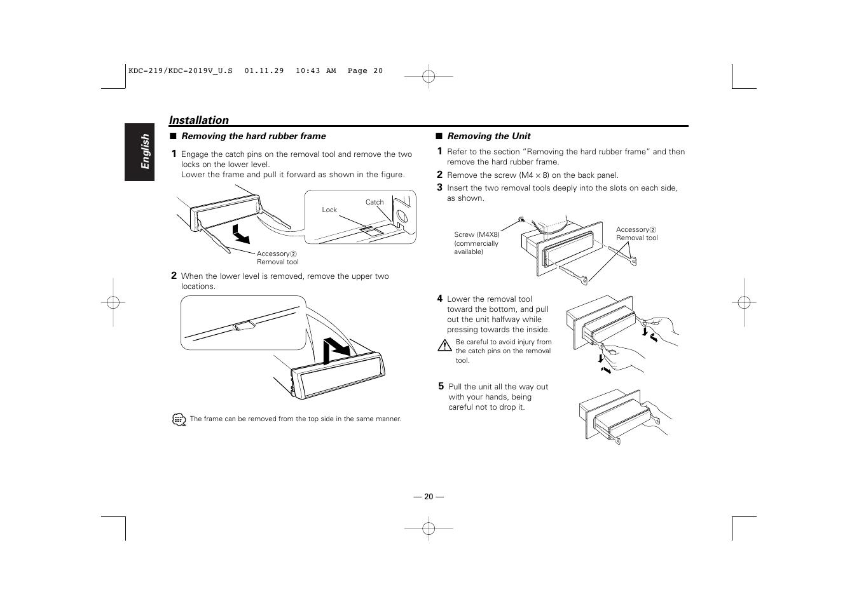 kenwood kdc 119 user manual page 20 25 original mode also rh manualsdir com Kenwood KDC Bt648u Kenwood KDC Bt648u