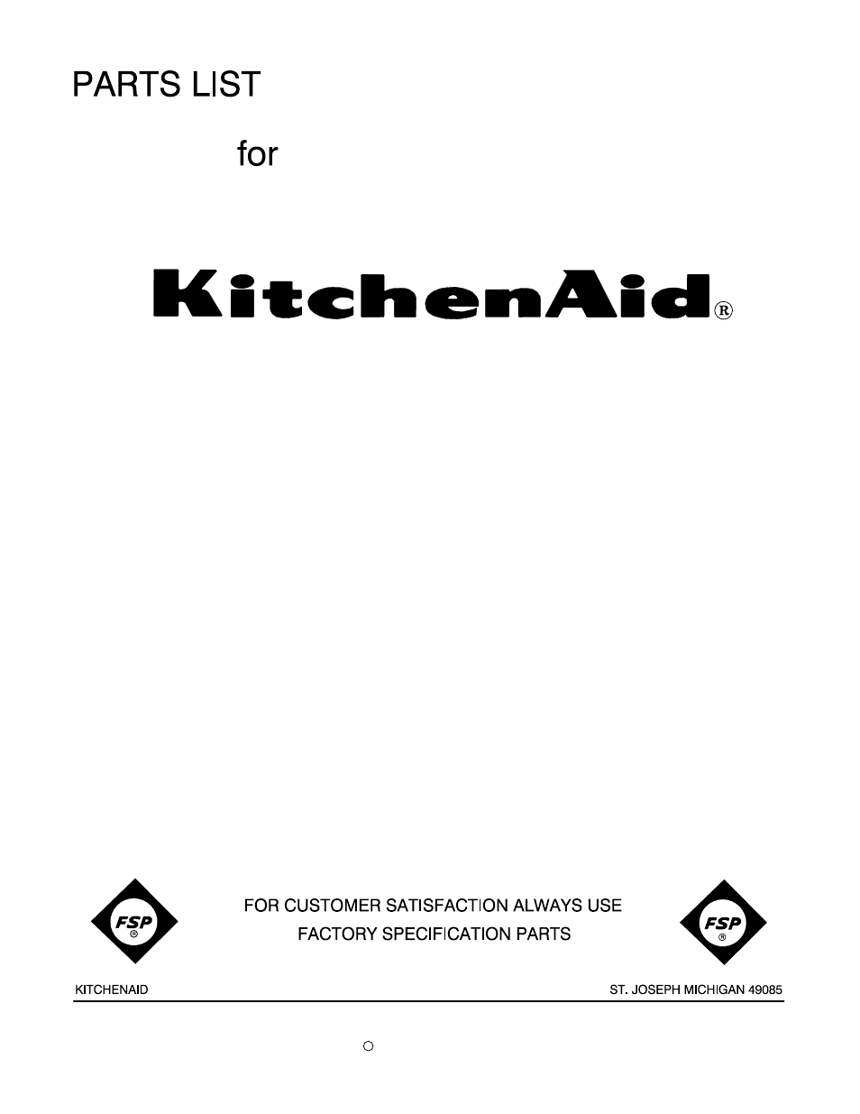 Kitchenaid Kfp715er2 User Manual 4 Pages Also For Kfp715ob2