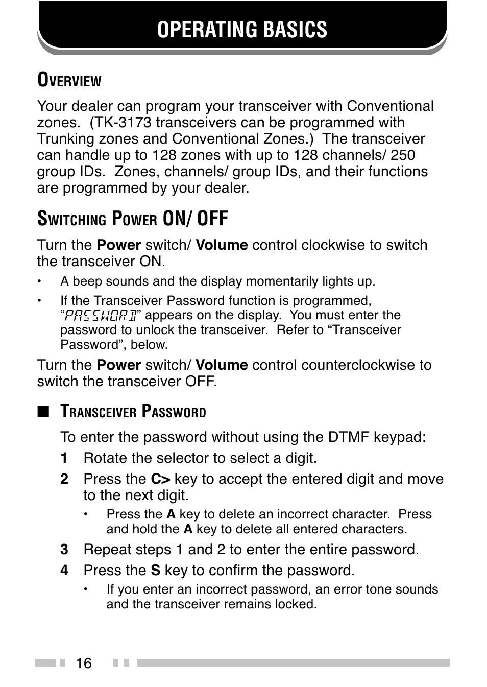 34703110 vhf fm handheld transceiver user manual instruction.