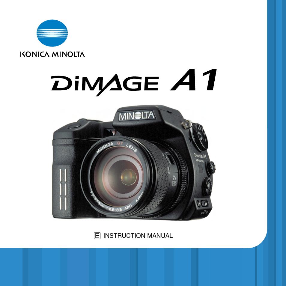 konica minolta dimage a1 user manual 49 pages rh manualsdir com Minolta DiMAGE 7I Minolta DiMAGE Scan Dual