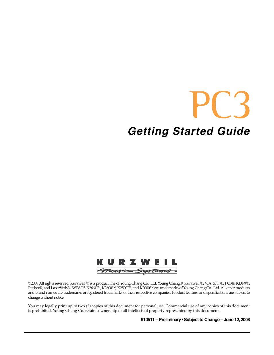 kurzweil ksp8 tm user manual 122 pages rh manualsdir com Brand Strategy Process Guideline Template