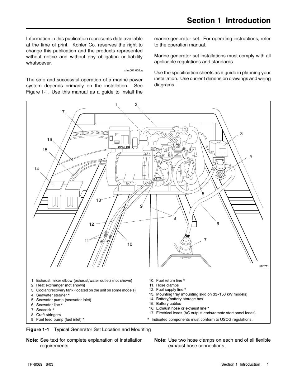Kohler 7 3 Marine Generator Service Manual Engine 6 4 Cz Electrical Diagram Sets 11efoz 13eoz User Page 11 92 Also