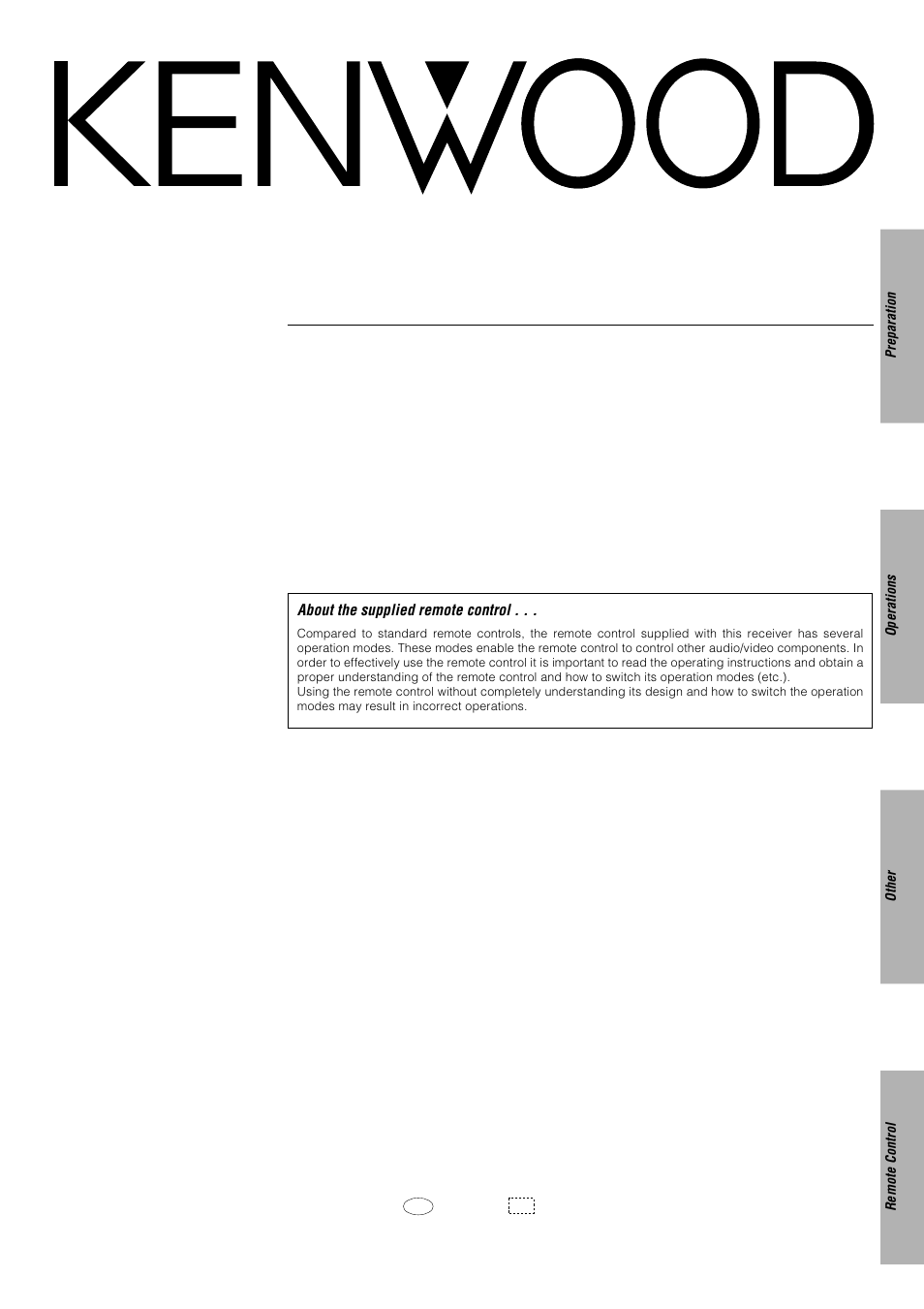 kenwood krf x9080d audio video surround receiver repair manual