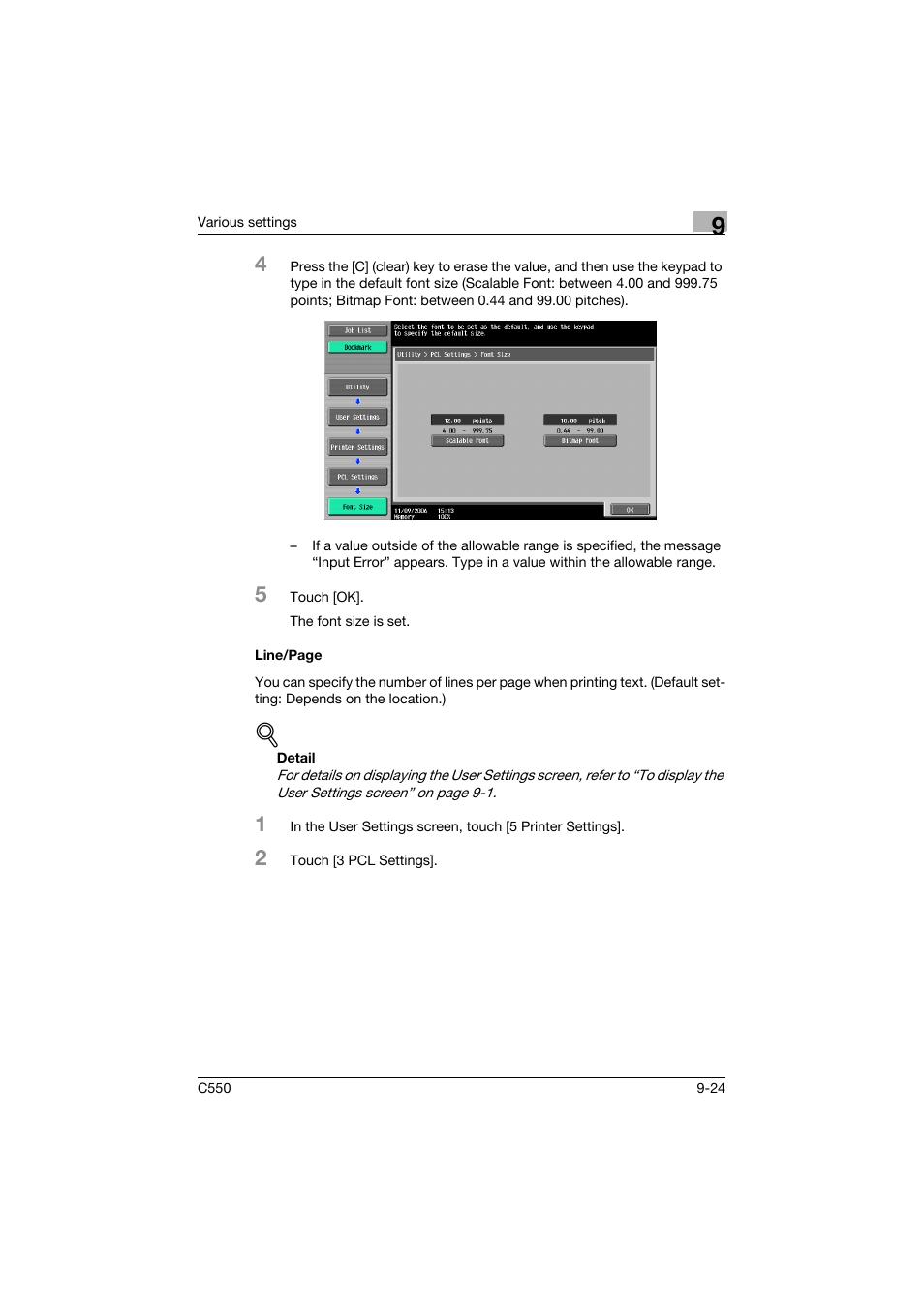 konica minolta bizhub c550 user manual page 333 400 original mode rh manualsdir com bizhub c550 service manual bizhub c550 service manual pdf