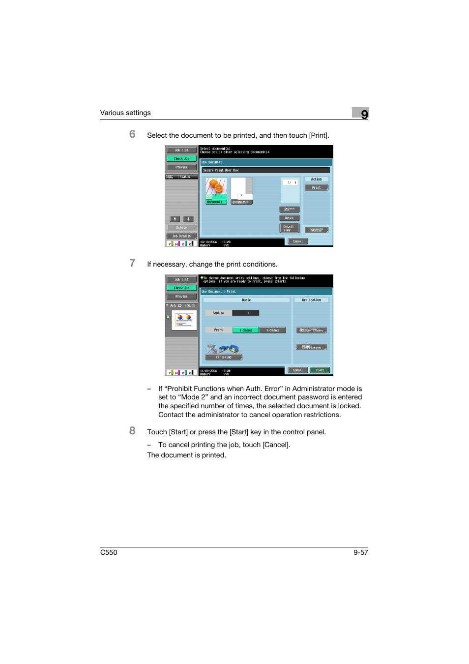 konica minolta bizhub c550 user manual page 366 400 original mode rh manualsdir com bizhub c550 service manual pdf Konica Minolta