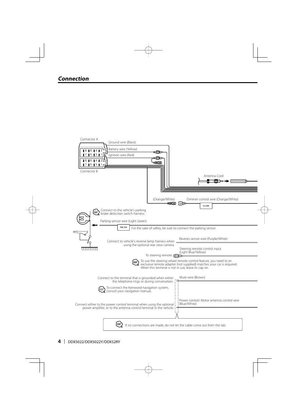 Kenwood Ddx 5022 Manual One Word Quickstart Guide Book Ddx512 Wire Harness Connection Ddx5022 User Page 4 12 Rh Manualsdir Com Ddx319 Ddx370