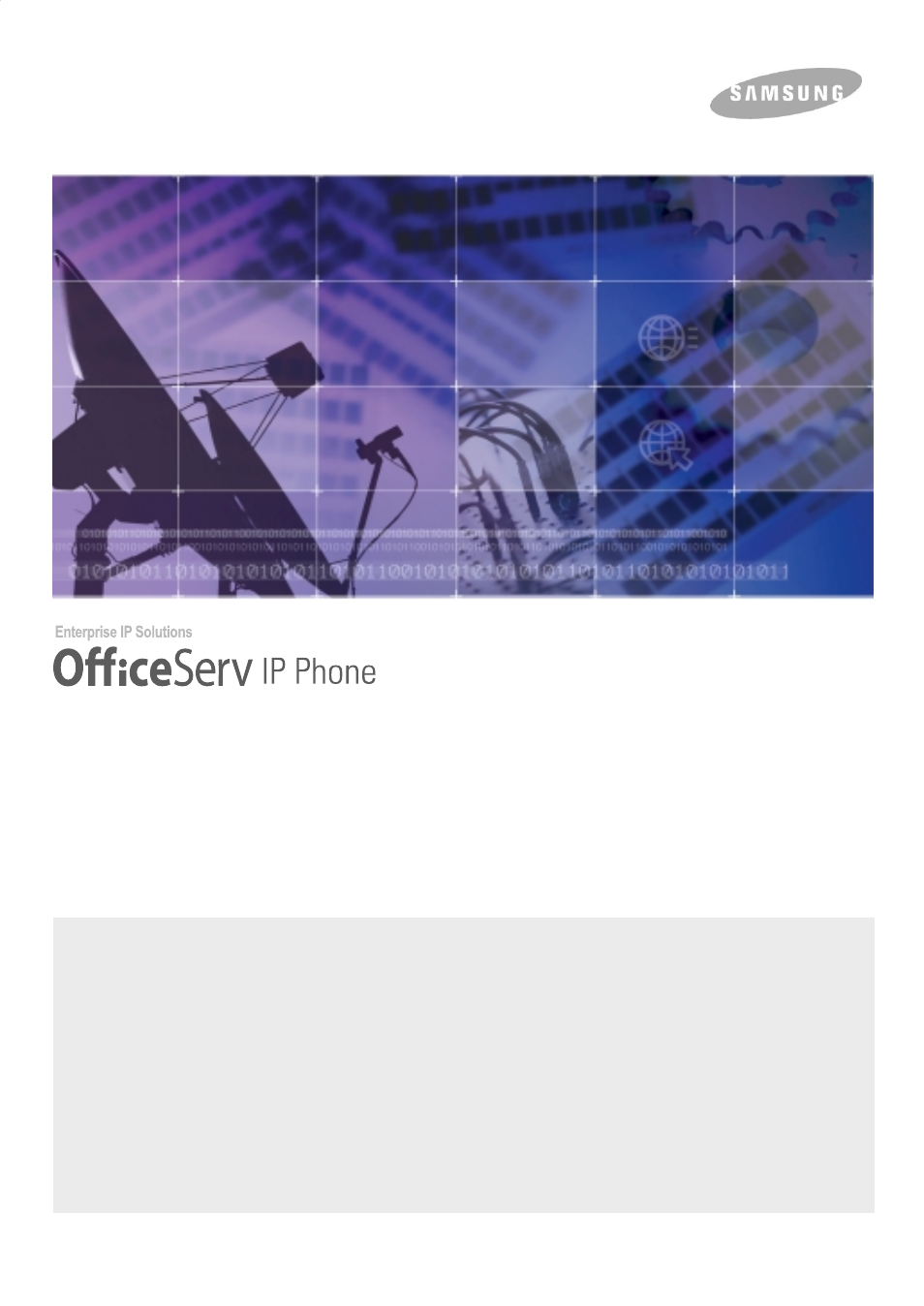 Samsung ITP5012L User Manual | 164 pages