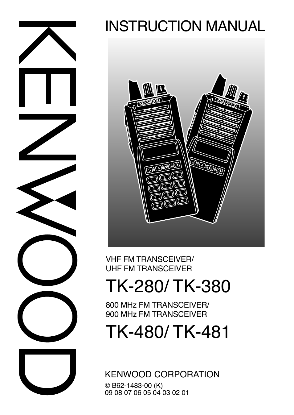 kenwood tk 380 user manual 37 pages also for tk 480 481 rh manualsdir com Kenwood Tk 280 Kenwood Radios