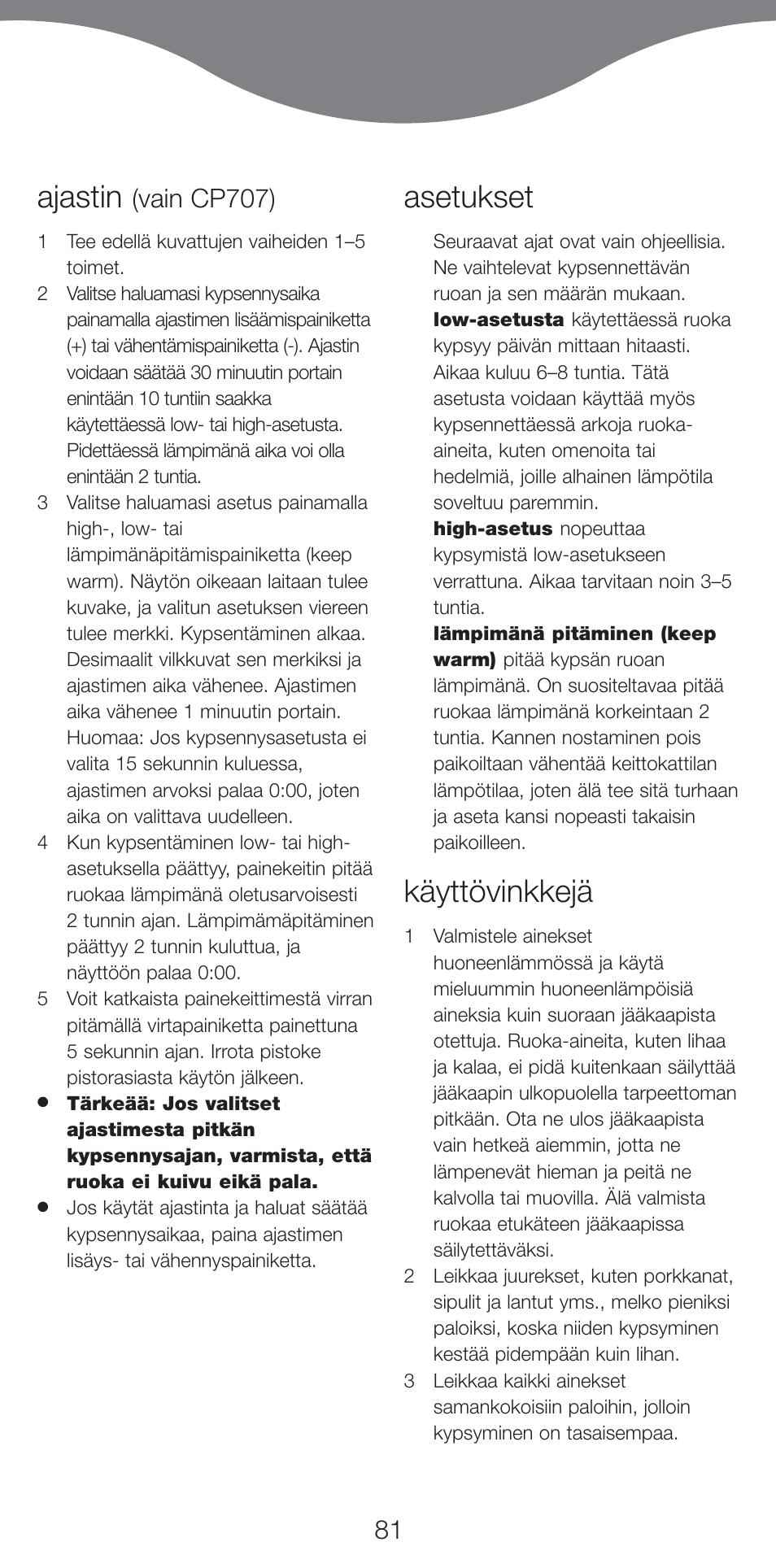 ajastin asetukset k ytt vinkkej kenwood cp707 user manual rh manualsdir com Kenwood Manual DPX-400 Kenwood Manual DPX-400
