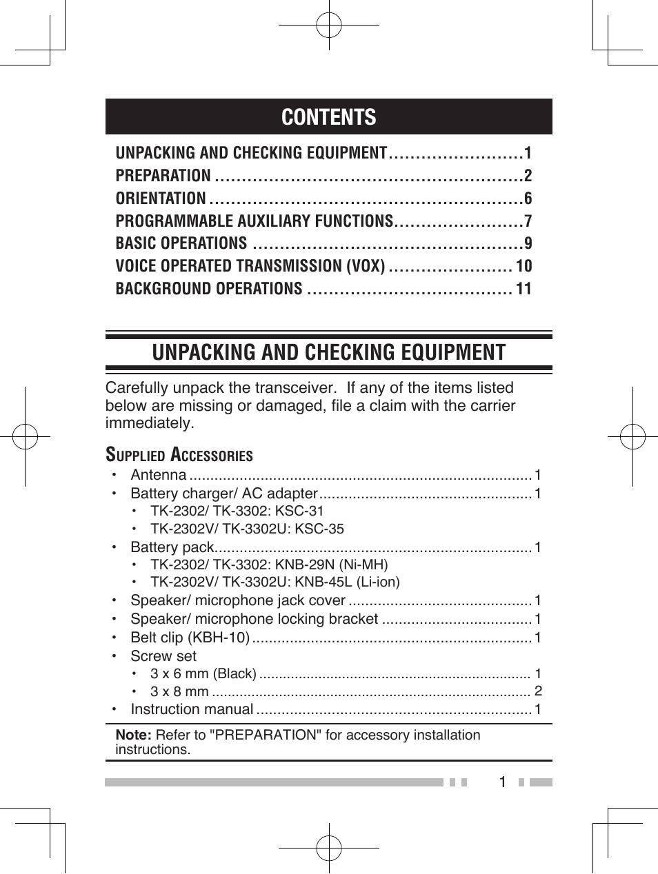 kenwood tk 3302 user manual page 10 21 also for tk 2302v tk 2302 tk 3302u tk 2306 tk 2302e tk 3302e3 tk 3302e