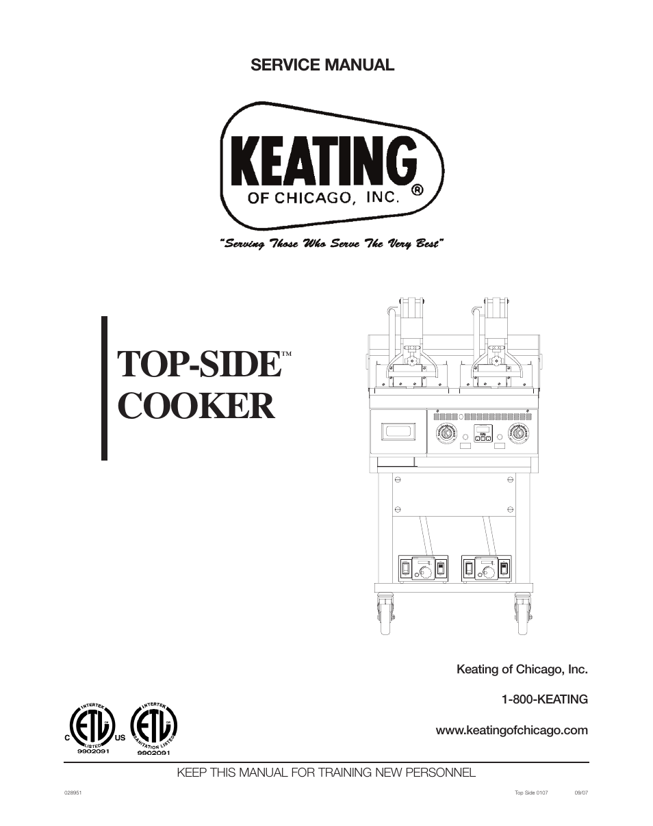 keating of chicago top side cooker 028951 user manual 18 pages rh manualsdir com Chicago Manual Style Citation Chicago Manual of Style Footnotes