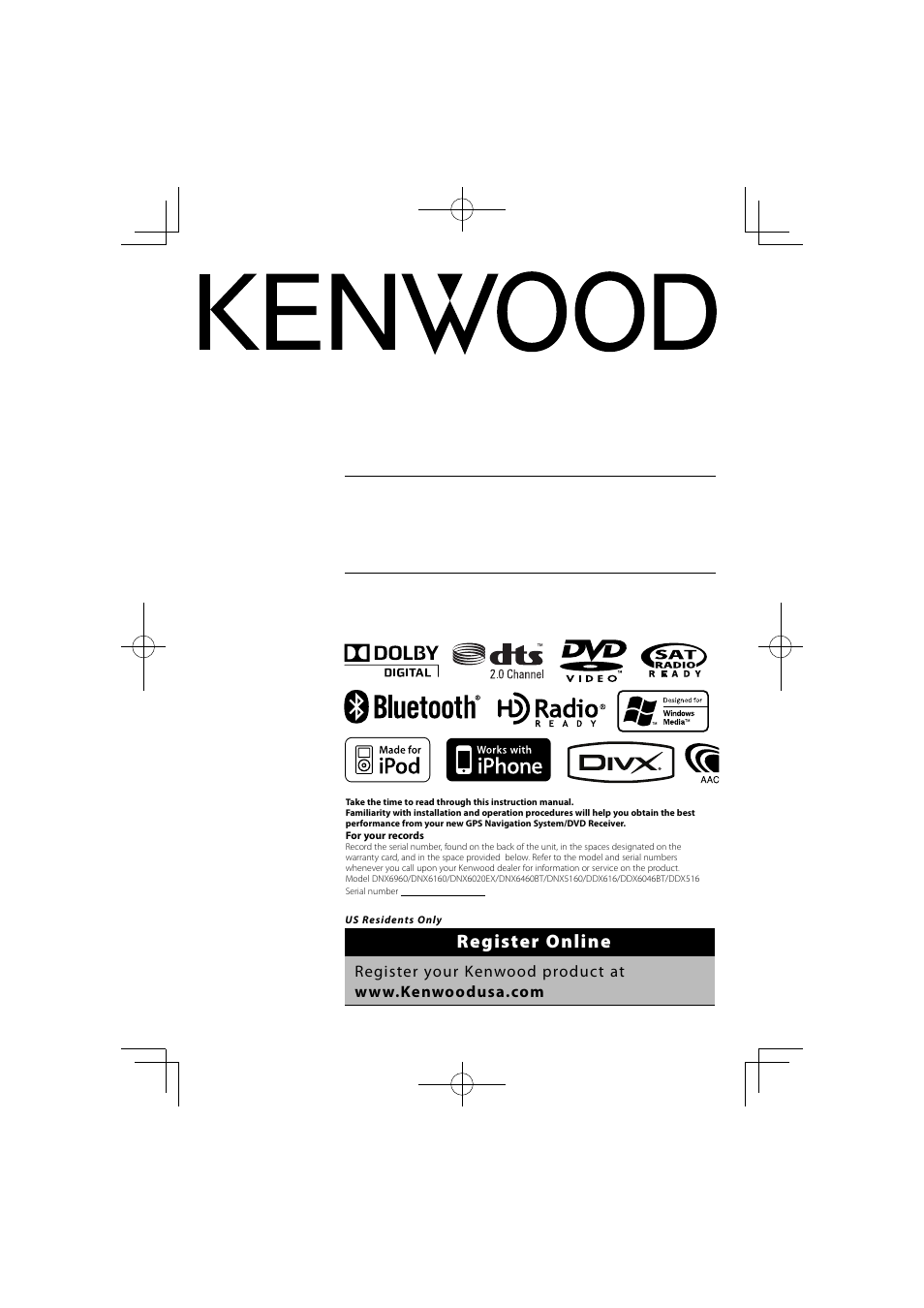 kenwood dnx6160 user manual 100 pages also for dnx5160 ddx616 rh manualsdir com
