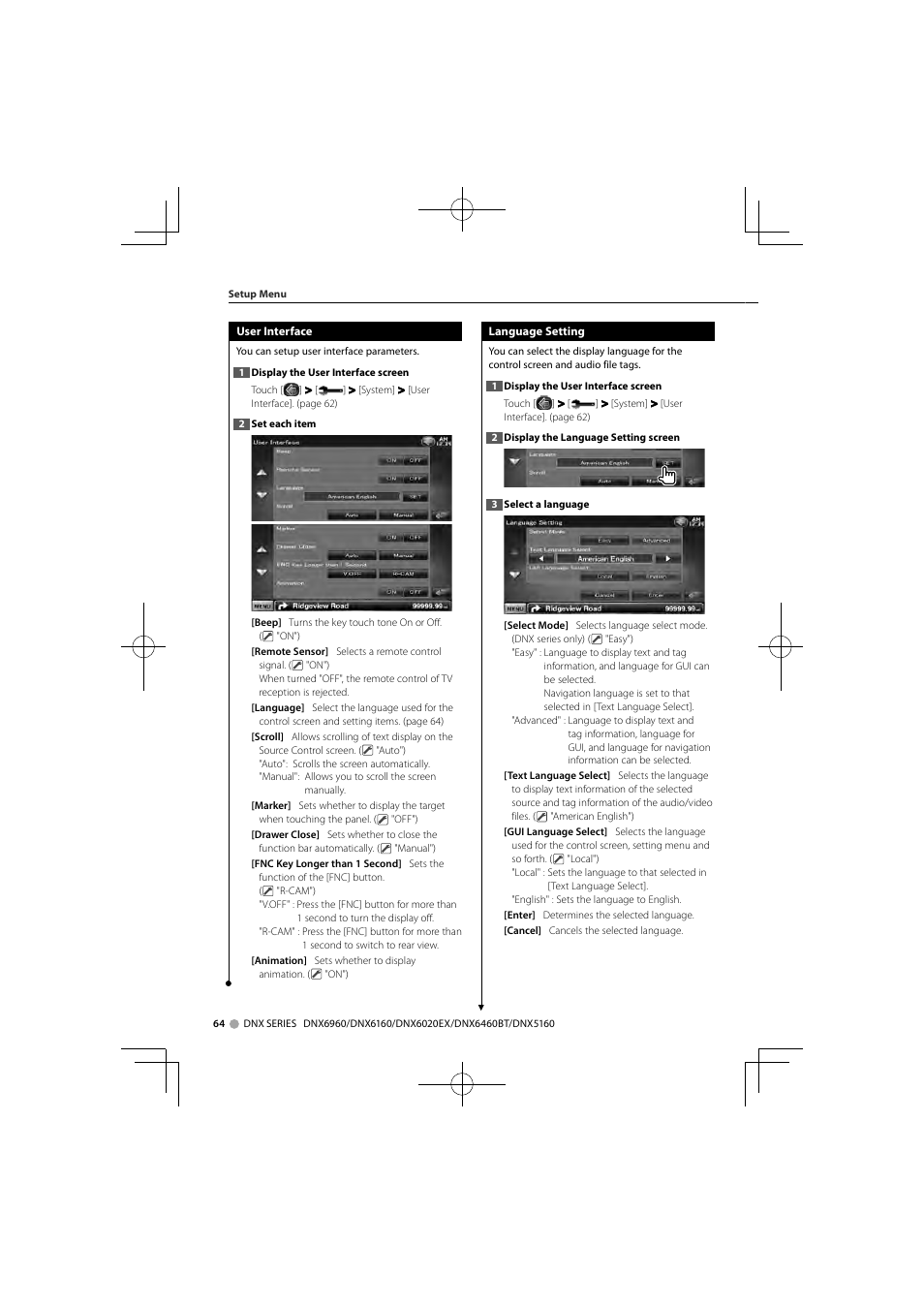 kenwood dnx6160 user manual page 64 100 also for dnx5160 rh manualsdir com