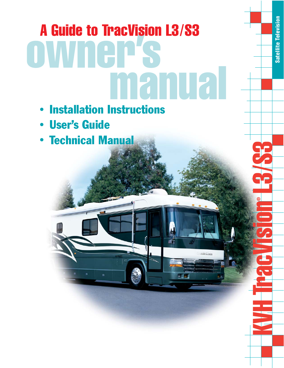 kvh industries tracvision s3 user manual 77 pages also for rh manualsdir com