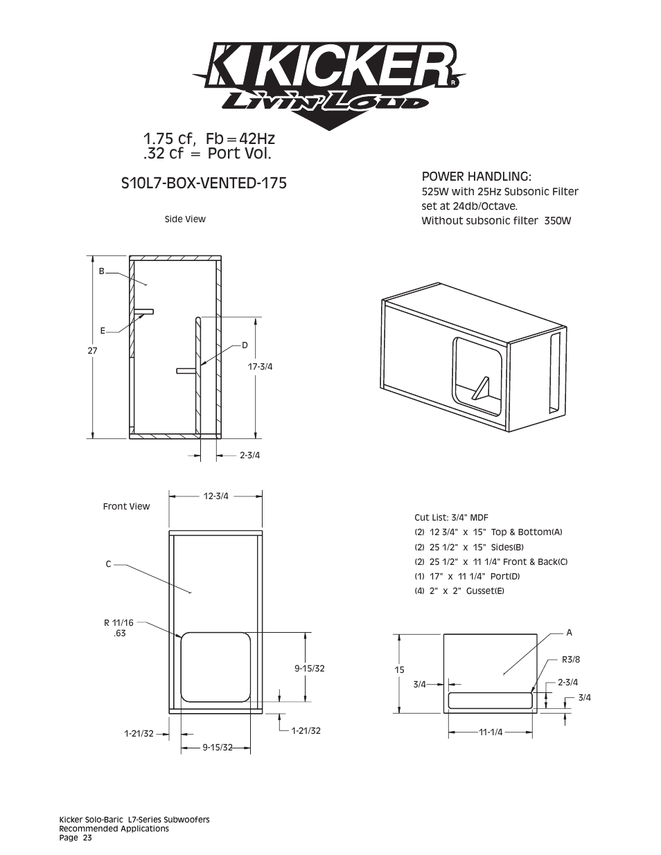 Kicker L5 12 Wiring Diagram